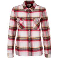 ConverseCONVERSE Plaid Flannel Button Hemd Damen, rot, rot / weiß / gelb