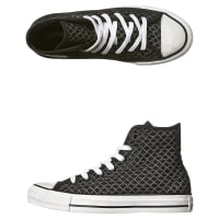 ConverseWomens Chuck Taylor All Star Mesh Hi Shoe Black