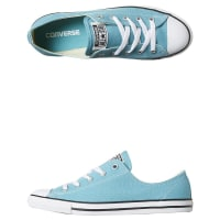 ConverseWomens Chuck Taylor All Star Dainty Shoe Blue