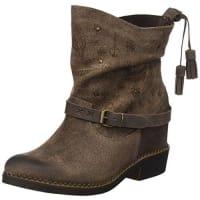 CoolwayBETSY - Botas para mujer, color marrón oscuro