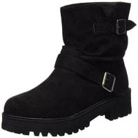 CoolwayBOOM - Botas para mujer, color negro