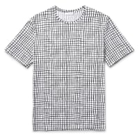 CosPrinted Cotton-jersey T-shirt - White