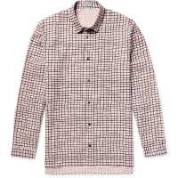 CosPrinted Cotton-poplin Shirt - Pink