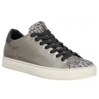 Crime LondonBaskets & Tennis mode CRIME 25221 cuir Gris