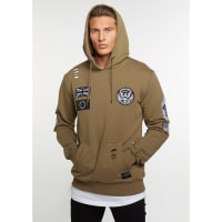 Criminal DamageHooded-Sweatshirt CD Security olive/multi