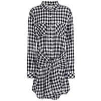 Current ElliottThe Twist check shirt dress