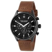 Dane DapperTroika Armbanduhr Schwarz Auf Braun