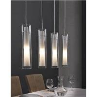 Davidi DesignFiene - Hanglamp - 4 Lichts - Grijs