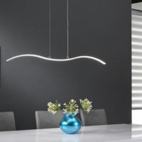 Davidi DesignParel - Hanglamp - 90 cm - LED - Grijs