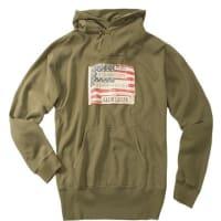 Denim & SupplyHerren Pullover Sweater Baumwoll-Mix olivgrün