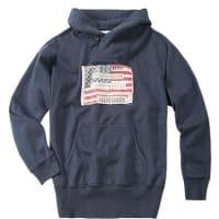Denim & SupplyHerren Pullover Sweater Baumwoll-Mix navy blau