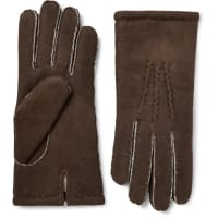 DentsYork Shearling Gloves - Braun