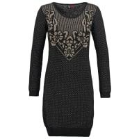 DeptGebreide jurk black