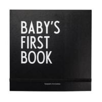 DESIGN LETTERSMitt första år bok svart