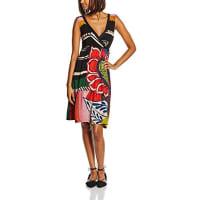 DesigualDamen A-Linie Kleid, mit Print