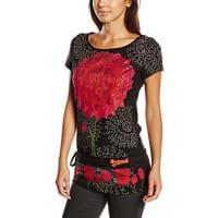 DesigualJUDE-T-shirt Donna, Nero, XS
