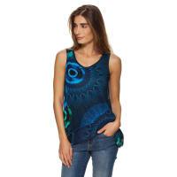 DesigualDamen T-Shirt, Rundhals, ohne Arm S