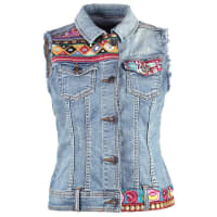 DesigualFINA Vest blue denim