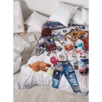 DesigualMessy bed duvet cover