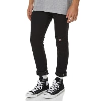 DickiesPolyester Cotton Spandex Chino Style Black Mens Work Pants
