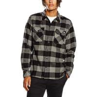 DickiesSacramento, Camisa para Hombre, Gris (Grey), X-Large