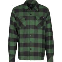 DickiesSacramento Camisa de manga larga verde negro a cuadros