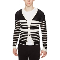 DieselKabol Silk Striped Cardigan