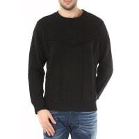 DieselSweatshirt for Men, Black, Cotton, 2016, L M S XL