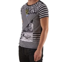 DieselT-shirt Homme Pas cher en Soldes, Noir, Coton, 2016, L M S