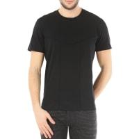 DieselT-Shirt for Men, Capitan, Black, Cotton, 2016, L M S XL