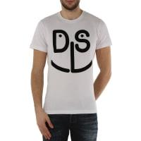 DieselT-Shirt for Men, Diegomd, White, Cotton, 2016, L M S XL
