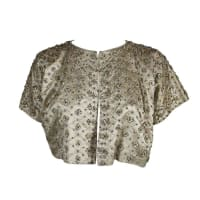 DiorLifetime Couture 1950s Ivory Beaded Evening Jacket