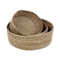 DixieEmil bread basket 3-pack nature (beige)