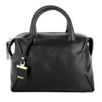 DKNYDkny Tasche - Williamsburg Vachetta Leather Bowling Bag Black - in schwarz - Henkeltasche für Damen