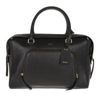 DKNYDkny Handle Bag - Greenwich Smooth Calf Large Satchel Black - in black - Handle Bag for ladies