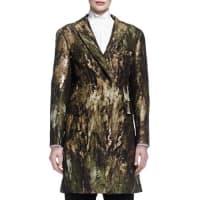 DKNYSculpted Jacquard Snap Coat