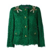 Dolce & GabbanaJaqueta com renda