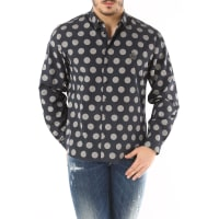 Dolce & GabbanaShirt for Men On Sale in Outlet, Midnight Blue, Cotton, 2016, 17 17.5