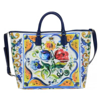 Dolce & GabbanaMaiolica print shopping bag