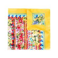 Dolce & GabbanaLenço de seda com estampa