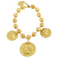 Dolce & GabbanaCollier Metall Gold - aus zweiter Hand