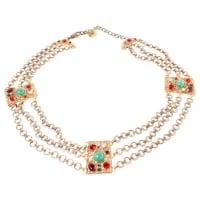 Dolce & GabbanaCollier Metall - aus zweiter Hand