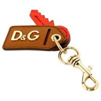 Dolce & GabbanaLeder schlüsselanhänger - aus zweiter Hand