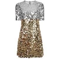 Dolce & GabbanaPaillettes Mini Dress