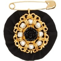 Dolce & GabbanaPearls And Roses Brooch