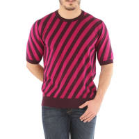 Dolce & GabbanaSweater for Men Jumper On Sale in Outlet, Magenta, Cotton, 2016, L XXL