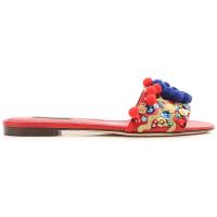 Dolce & GabbanaSandalen für Damen Günstig im Outlet Sale, Rot, Leder, 2016, 37 37.5