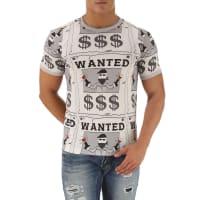 Dolce & GabbanaT-shirt Homme Pas cher en Soldes, Gris, Coton, 2016, L M S XL
