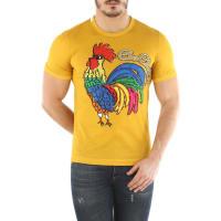 Dolce & GabbanaT-Shirt for Men, Yellow, Cotton, 2016, L M S