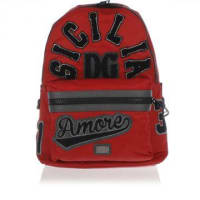 Dolce & GabbanaEmbroided Nylon Backpack Herbst/Winter